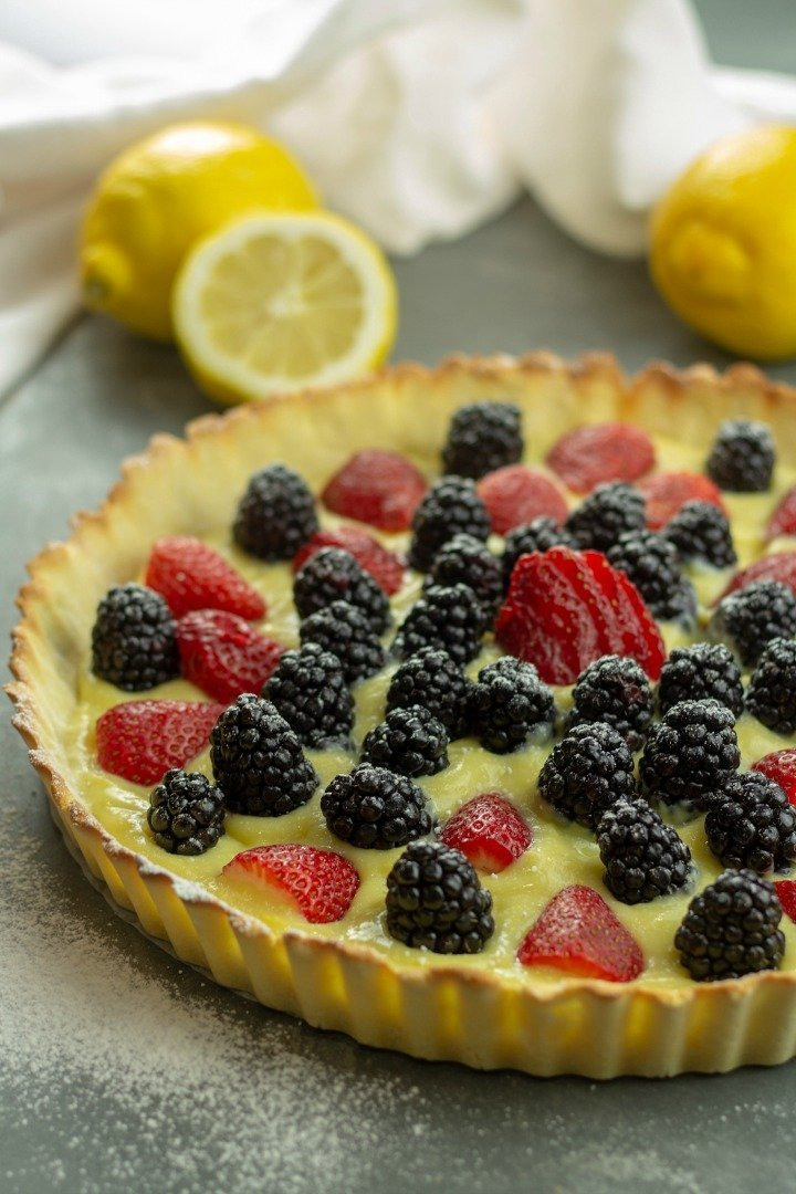 Low Carb Lemon Tart