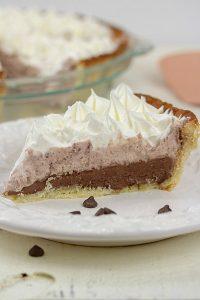 Low Carb Chocolate Silk Pie