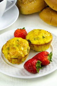 Low Carb Ham and Egg Muffin