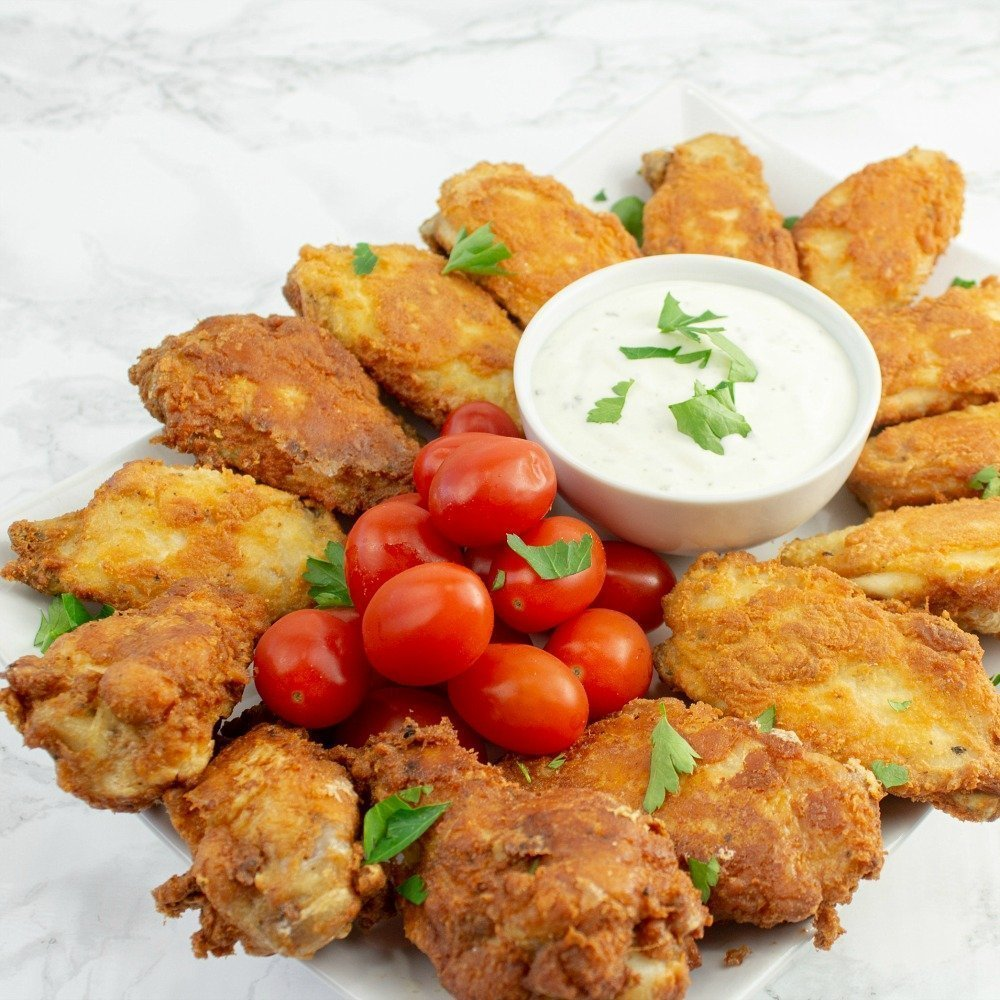Low Carb Keto Fried Wings