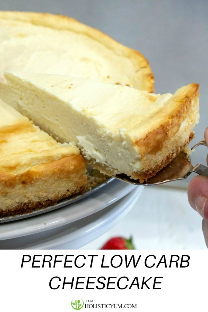 Low Carb Cheesecake has the creaminess and flavor of the classic without all the carbs!