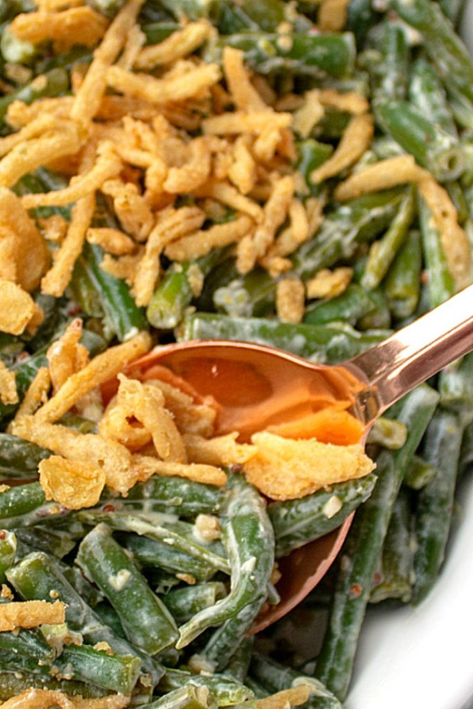 Low Carb Zesty Green Bean Casserole