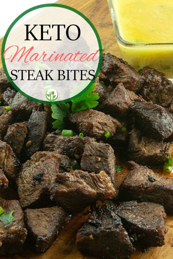 Tender and juicy Keto Marinated Steak Bites are crispy edged bites loaded with flavor. Simple to make, these bites are always a favorite!