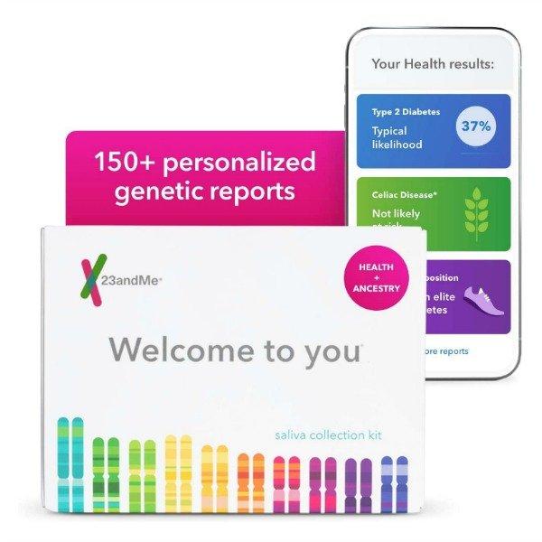 23andme genetic health and trait screening kit