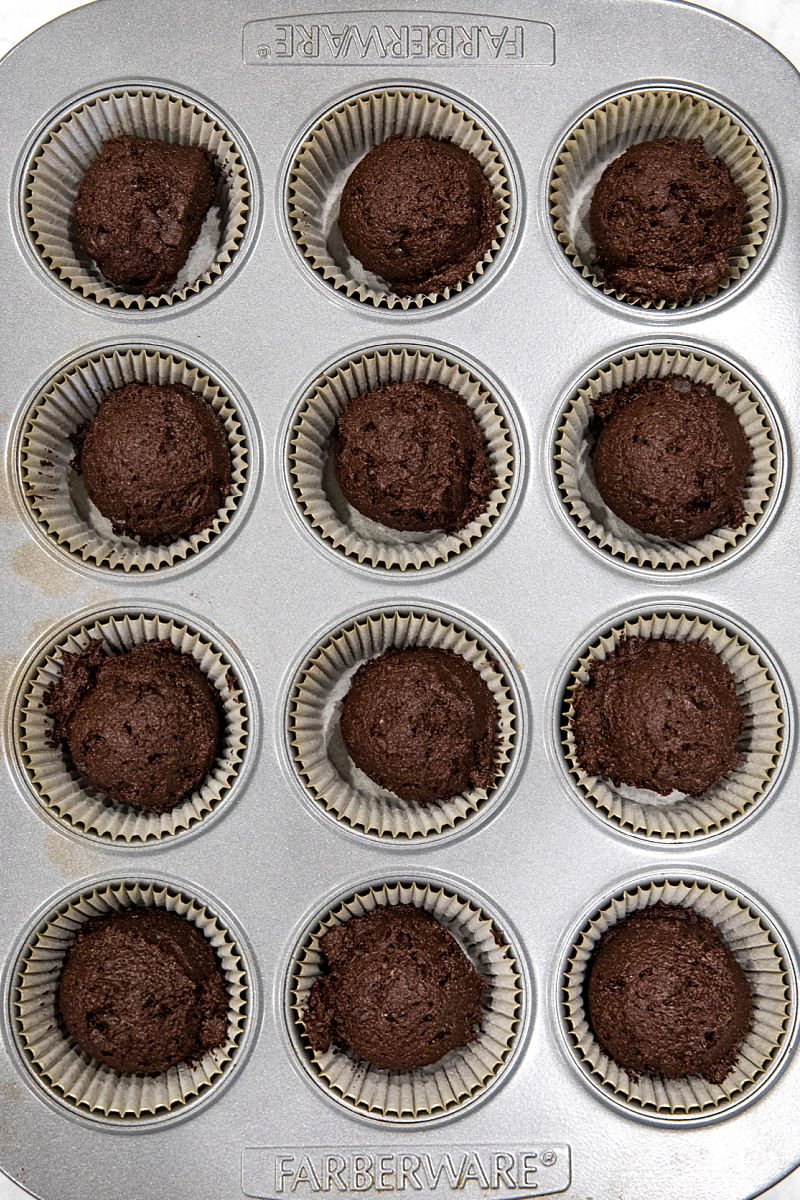 Keto Double Chocolate Chip Muffins are simple and easy with this almond flour recipe. Unsweetened cocoa powder and sugar-free chocolate chips give these ketogenic muffins their over-the-top double chocolatey goodness.